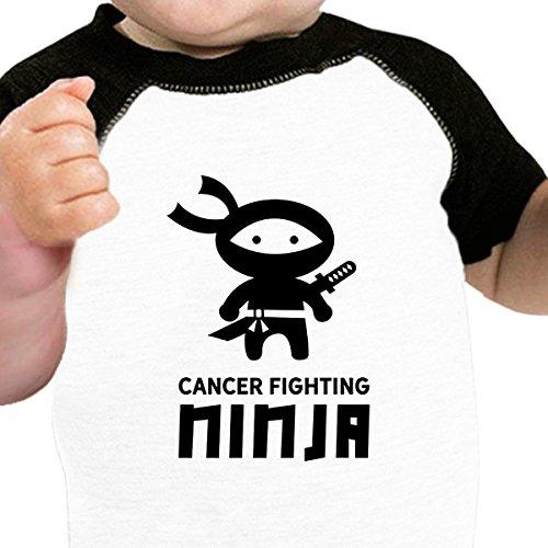 garçon 0 À Mois Ninja One Manches 24 Bébé 365 Courtes Body Fighting Size Printing Cancer RUwCq4