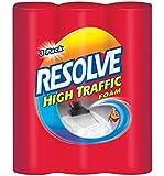 Resolve Carpet Cleaner High Traffic Foam, 22 oz, 3 Can Pack