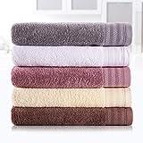 JMD TEXTILE Btahroom Towel Sets, 100% Cotton Bath