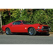 1969 FORD MUSTANG BOSS 429 FASTBACK Mouse Pads mousepads Classic Vintage Old Cars Hot Rods Speed Computer Dessktop Supplies