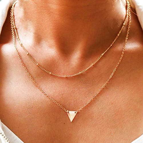 Yalice Triangle Necklace Geometric Necklaces product image