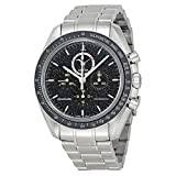 Omega Speedmaster Moonwatch Chronograph Black Dial Stainless Steel Mens Watch 31130443201001