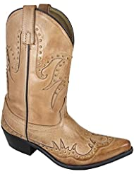 Smoky Mountain Womens Willow Cowgirl Boot Snip Toe - 6512