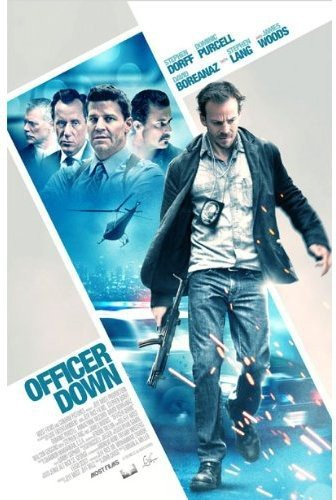 Blu-ray : Officer Down (Blu-ray)