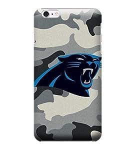 Allan Diy iPhone 6 Plus case cover, NFL - Carolina Panthers Camo - iPhone 6 Plus case cover F6C60imbGuk - High Quality PC case cover