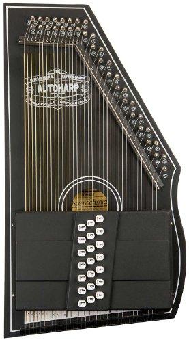 [해외]오스카 슈미트 OS73CE 1930 재발행 21 코드 Autoharp with Pickup - Black/Oscar Schmidt OS73CE 1930`s Reissue 21 Chord Autoharp with Pic