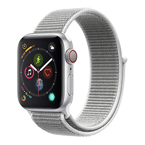 Apple Watch Series 4 Cellular, 40 mm, Alumínio Prata, Pulseira Esportiva Loop...