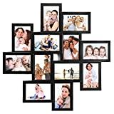 Jerry & Maggie - Photo Frame 24x24 Square Storm Eye Black PVC Picture...