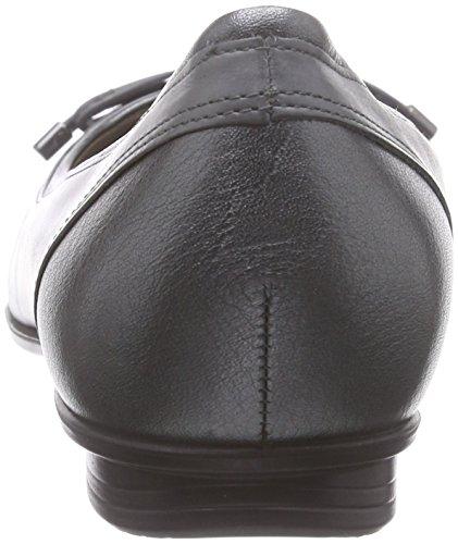 Touch Ballerine Shadow 59528 ECCO Titanium Grigio Metallic Donna dark dSxPz5qP