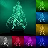 3D Star Wars Night Light, 16 Colors Changing