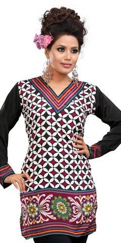 cb990d1e88 Indian Tunic Top Womens Kurti Printed Blouse India Clothing ...