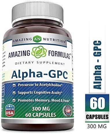 Amazing Formulas Supplement Concentration Acetylcholine product image