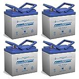 12V 35AH SLA Battery for AAA Robo Scooter Seguay 3000 - 4 Pack