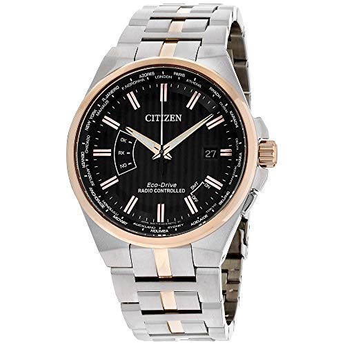 Citizen Watches Men's CB0166-54H Eco-Drive Two-Tone One Size