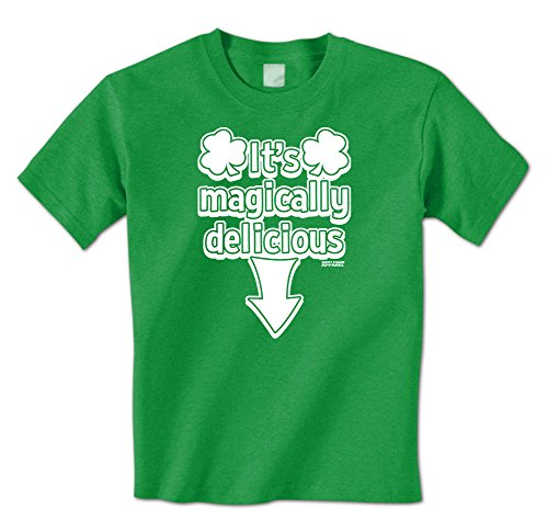 It's Magically Delicious - Naughty St. Patrick's Day Mens T-Shirt (Large (Naughty St Patricks Day Shirts)