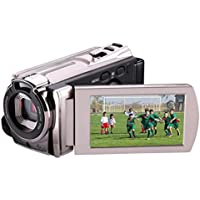 Mini DV, High Definition Digital Video, Camcorder DVR 3 TFT LCD 16x Zoom Hd Video Recorder Camera 1080P FHD Digital Video Camcorder With Night Vision, HDMI And Touchscreen (A)