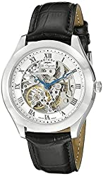 Rotary Men's gs90508/02 Analog Display Swiss Automatic Black Watch