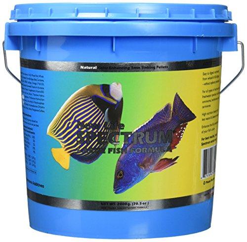 Image of New Life Spectrum 62025 Large Fish Formula Sinking Pellets, 3mm/2 kg