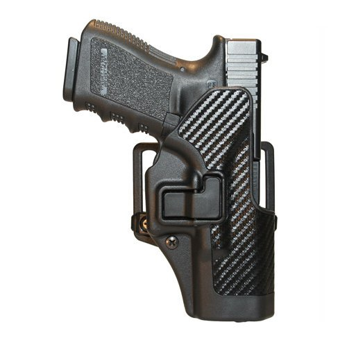 CF Holster w/BL & Paddle, Serpa, RH, Black, Ber.92/96 (Blackhawk Special Operations Holster)