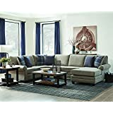 Scott Living Summerland Sectional Sofa with Accent Pillows
