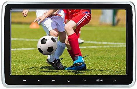 KKmoon DVDプレーヤー 10.1インチ 車載カーラジオ デジタルスクリーン タッチキータブレットスタイルのカーヘッドレスト DVD/VCD/MP3/CD対応 多機能