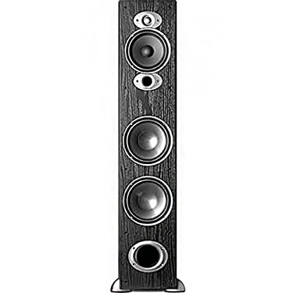 amazon com polk audio rti a7 floorstanding speaker single black rh amazon com