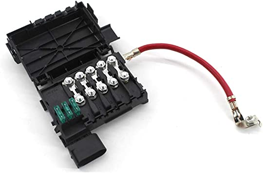 Amazon.com: Battery Fuse Box,Fuse Block Holder Battery Terminal for  Volkswagen Jetta Golf 4 MK4 Beetle 1J0937550A: AutomotiveAmazon.com