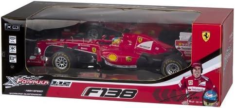 ColorBaby - Coche con radiocontrol, Ferrari F138 F1, Escala 1:12 (40453)