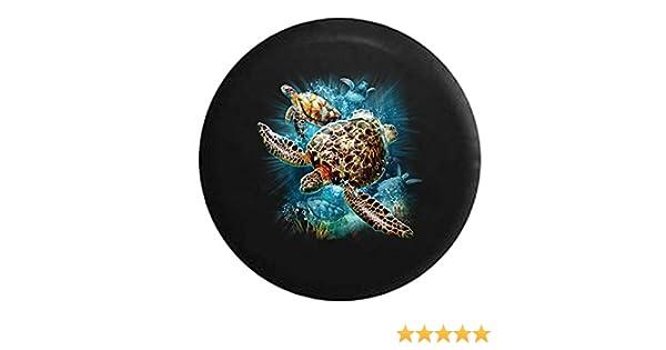 Dead Men Tell No Tales Pirate Skull /& Crossbones Sea Compass Spare Tire Cover Black 26-27.5 in