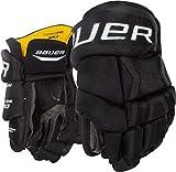 Bauer Supreme TotalOne MX3 Youth Hockey Gloves, 8 Inch, Black