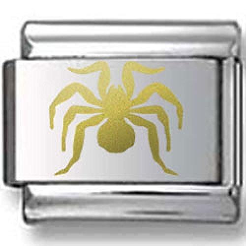 Bold Spider Gold Laser Italian Charm Bold Laser Italian Charm