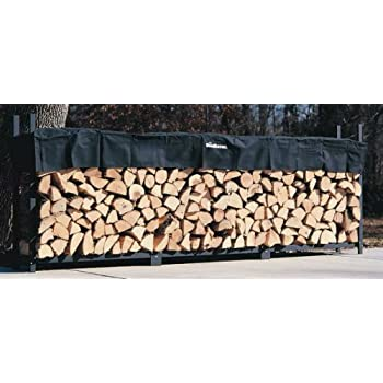 Amazon Com Landmann 82433 8 Foot Firewood Log Rack Only