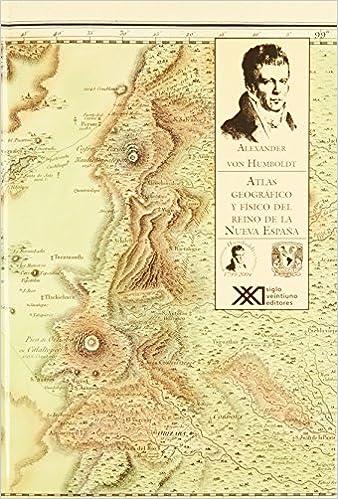 atlas geografico y fisico del reino de la nueva espana: Amazon.es ...