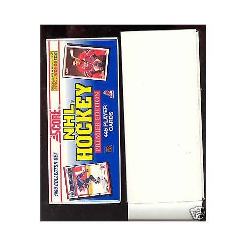 1990-91 Score Hockey Complete Box set FACTORY SEALED Eric Lindros 1991