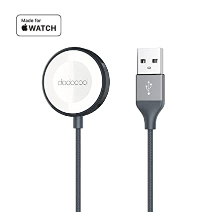Amazon.com: dodocool cargador de Apple Watch, MFI 3.3 ft ...