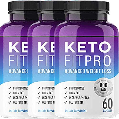 Keto Fit Pro - Advanced Ketosis Weight Loss - Premium Keto Diet Pills - Burn Fat for Energy not Carbs (3 Month Supply)