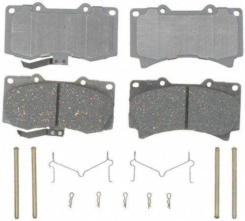 ACDelco 14D1119CH Advantage Ceramic Front Disc Brake Pad Set with Hardware