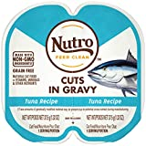 Nutro Perfect Portions Cuts in Gravy Food Trays for Cats - Tuna - 80g (24 Pack)