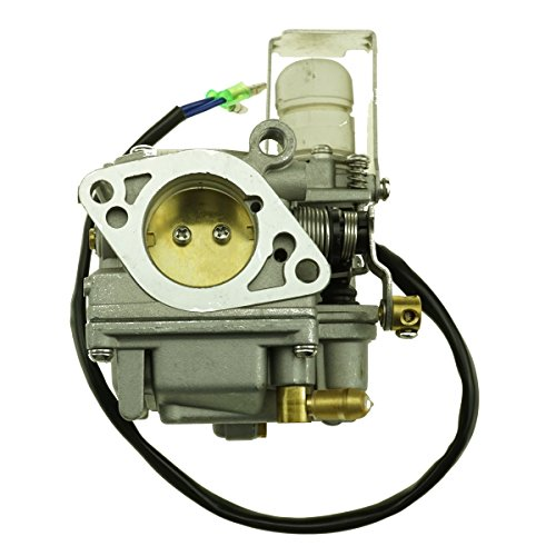 (Uanofcn New Carburetor for Yamaha Outboard Engine 4 Stroke F20A 25A 20HP 25HP 65W-14901-10 11)