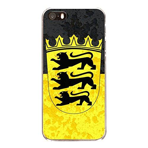 "Disagu Design Case Schutzhülle für Apple iPhone 5 Hülle Cover - Motiv ""Baden-Würtemberg"""