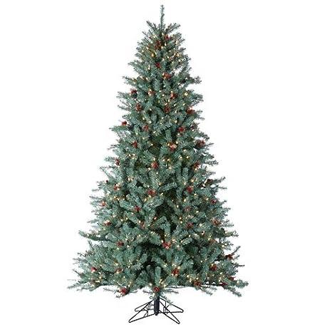 Artificial Christmas Tree Sizes.Amazon Com Diamond Fir Artificial Christmas Tree Size 7 5