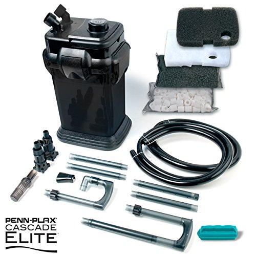 Penn Plax Cascade Canister Aquarium Filter (Cascade Black 1200 Elite)