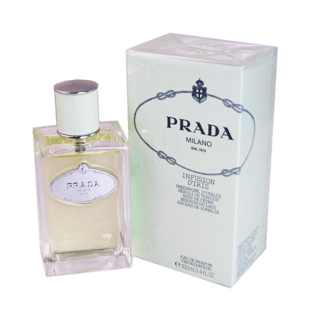 Prada Infusion D'iris by Prada Eau De Parfum Spray 3.4 oz for Women - 100% Authentic