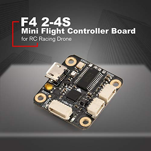 Wikiwand F4 2-4S Mini Flight Controller Board BetaFlight OSD BEC for RC Racing Drone by Wikiwand (Image #2)