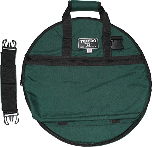 Humes & Berg 20 Inch Cymbal Bag Forrest Green Color (Humes & Berg Cymbals)