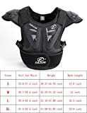 kids atv gear - BARHAR Kids Dirt Bike Body Chest Spine Protector Armor Vest Protective Gear for Dirtbike Bike Motocross Skiing Snowboarding (Black, S)