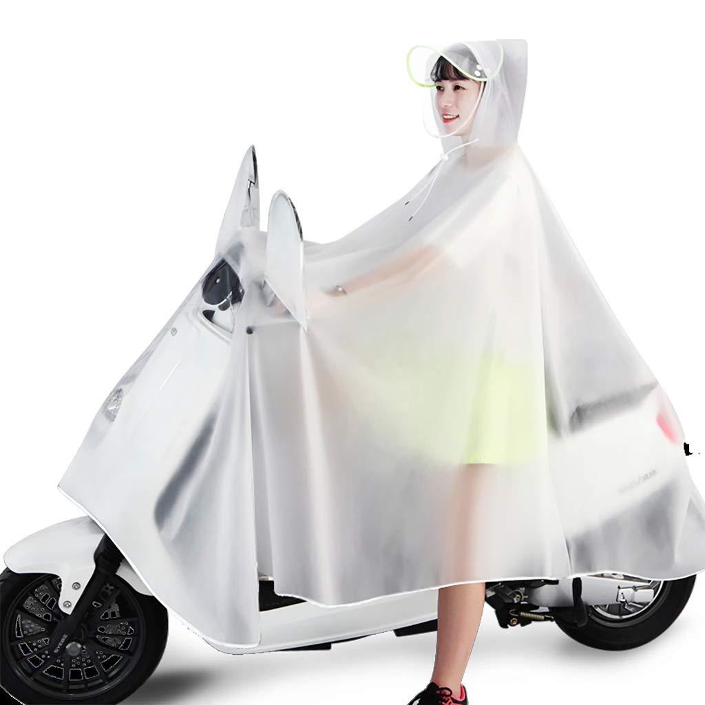 A XXXXL Hyuyi Poncho d'équitation de Mode pour Hommes célibataires imperméable AugHommester du Poncho Transparent (Couleur   D, Taille   XXXL)