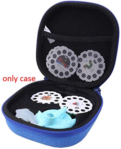 Aenllosi Hard Carrying Case for Moonlite Projector Gift Pack fits Upto 20 Stories (Blue)