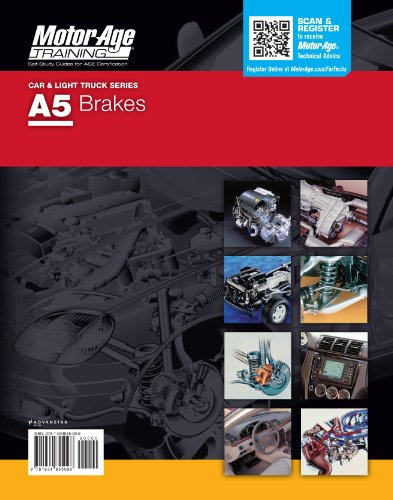 ASE Test Preparation - A5 Brakes (Motor Age Training) by Motor Age Staff (2012-05-04)