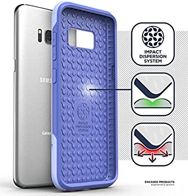 Amazon.com: Encased Samsung Galaxy S8 Plus Case Purple Rebel ...